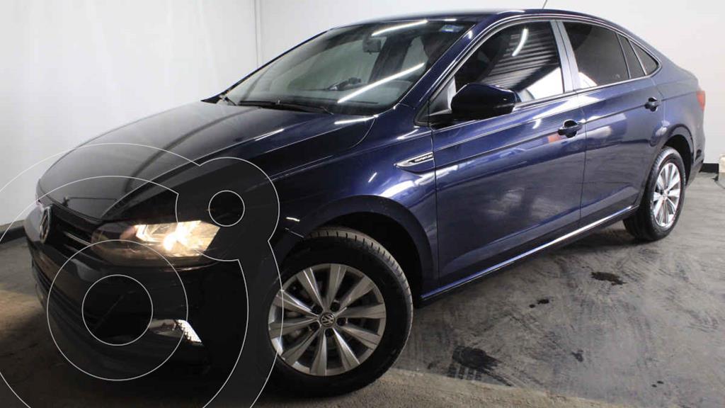 foto Volkswagen Virtus 1.6L usado (2020) color Azul precio $290,000