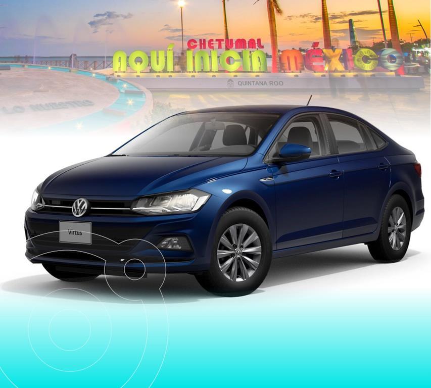 foto Volkswagen Virtus 1.6L nuevo color Azul Biscay precio $304,994