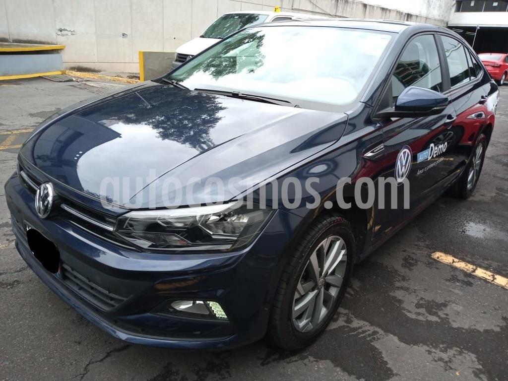 foto Volkswagen Virtus 1.6L usado (2020) color Azul precio $272,000