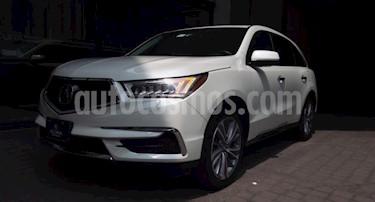 Acura MDX 5P TA9 PIEL DVD RA-19 4X4 usado (2018) color Blanco precio $635,000