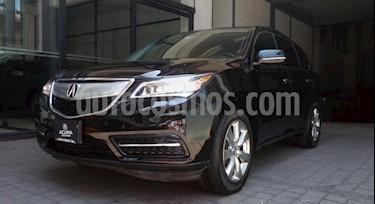 Acura MDX 5P TA PIEL DVD RA-19 4X4 usado (2014) color Negro precio $318,000