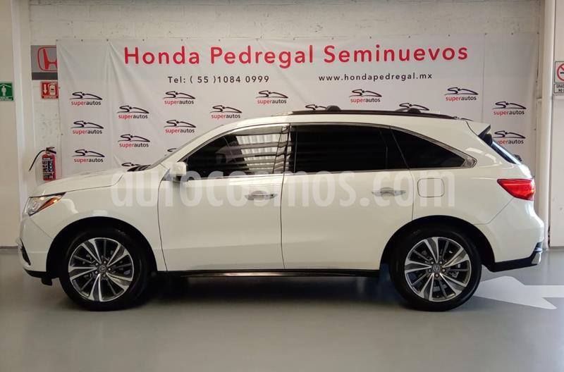 Acura MDX 3.5L usado (2017) color Blanco precio $520,000