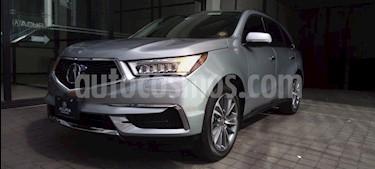 Acura MDX 5P TA9 PIEL DVD RA-19 4X4 usado (2017) color Plata precio $579,000