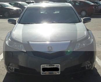Acura TL 3.7L usado (2010) color Gris Vulcano precio $180,000
