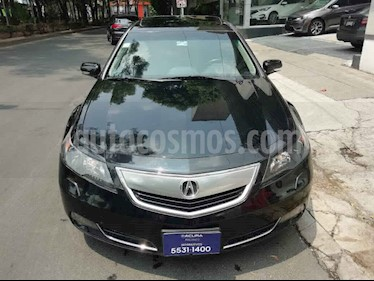 Acura TL 5p aut usado (2012) color Negro precio $162,000