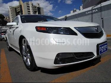 Acura TL 5p aut usado (2012) color Blanco precio $185,000