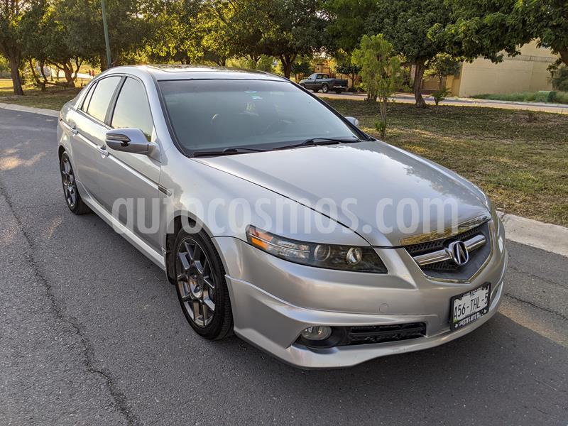 Acura TL 3.5L usado (2008) color Gris Vulcano precio $120,000