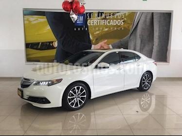Foto Acura TLX 4P ADVANCE 3.5L TA GPS RA-18 usado (2015) color Blanco precio $288,900