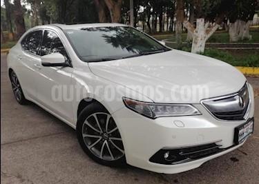 Foto Acura TLX 4P ADVANCE 3.5L TA GPS RA-18 usado (2015) color Blanco precio $295,000