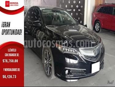 Foto venta Auto usado Acura TLX 4p Advance V6/3.5 Aut (2015) color Negro precio $293,000