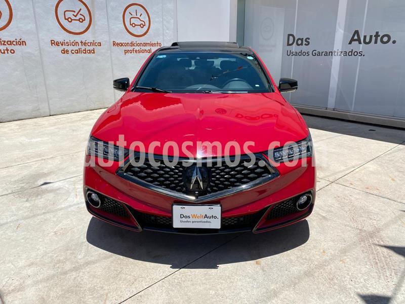 Acura TLX A- Spec usado (2018) color Rojo precio $490,000