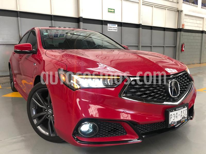 Acura TLX A- Spec usado (2018) color Rojo precio $480,000