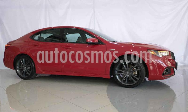 Acura TLX 4p A-Spec V6/3.5 Aut usado (2018) color Rojo precio $599,900