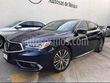Acura TLX 4p Advance V6/3.5 Aut usado (2018) color Azul precio $455,000