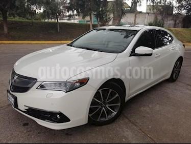 Acura TLX 4P ADVANCE 3.5L TA GPS RA-18 usado (2015) color Blanco precio $285,000