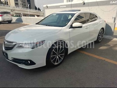 Acura TLX 4p Advance V6/3.5 Aut usado (2015) color Blanco precio $270,000