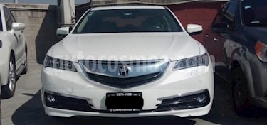 Acura TLX 4P ADVANCE 3.5L TA GPS RA-18 usado (2017) color Blanco precio $376,000