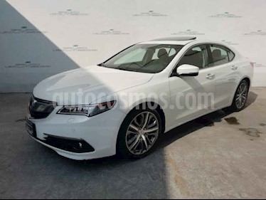 Acura TLX 4p Advance V6/3.5 Aut usado (2015) color Blanco precio $269,000