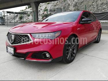 Acura TLX A- Spec usado (2018) color Rojo precio $485,000