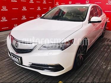 Acura TLX Tech usado (2016) color Crema precio $305,000