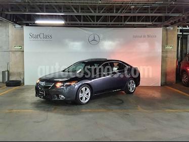 Acura TSX 4p V6/3.5 Aut usado (2012) color Gris precio $169,000