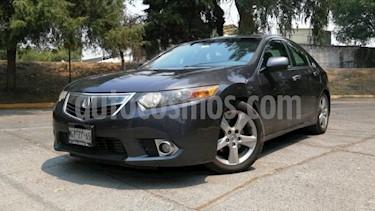 Acura TSX 4P 2.4L TA RA-17 usado (2011) color Gris precio $124,000