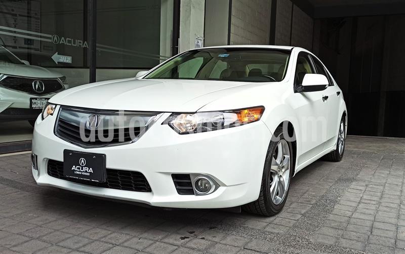 Acura TSX 2.4L usado (2012) color Blanco precio $179,000