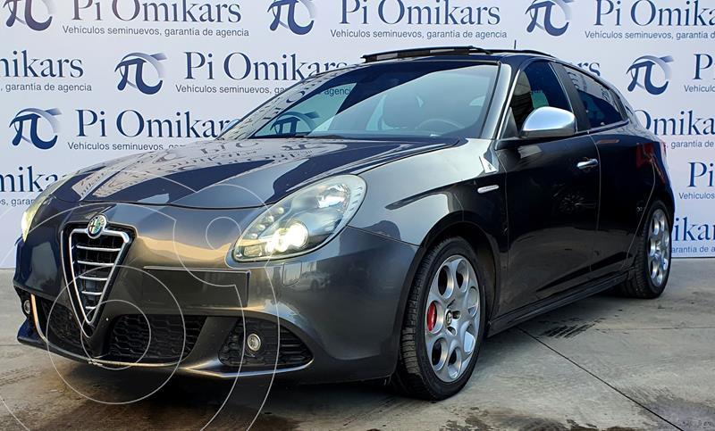 Alfa Romeo Giulietta Quadrifoglio Verde Piel usado (2013) color Negro precio $250,000