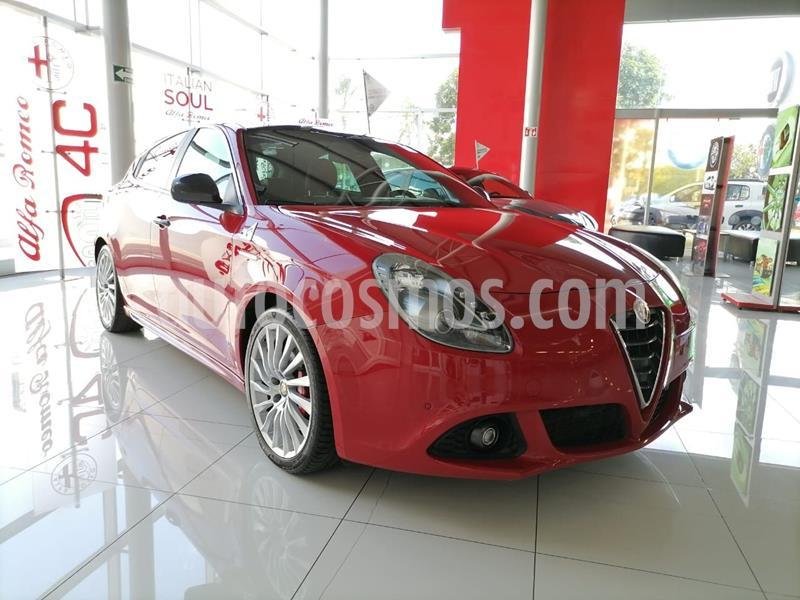 Alfa Romeo Giulietta Quadrifoglio Verde DDCT usado (2015) color Rojo precio $305,000