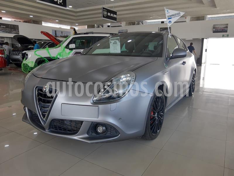 Alfa Romeo Giulietta Quadrifoglio Verde DDCT usado (2016) color Gris precio $295,000