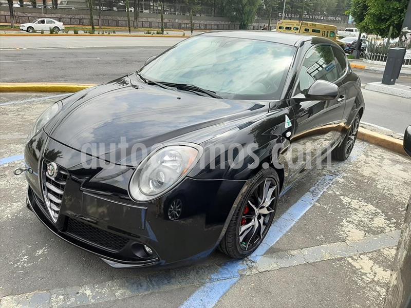 Alfa Romeo MiTo MITO QUADRIFOGLIO VERDE PIEL TM usado (2016) color Negro precio $240,000