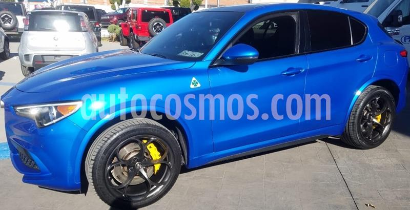 Alfa Romeo Stelvio Quadrifoglio usado (2019) color Azul Acero precio $1,410,000
