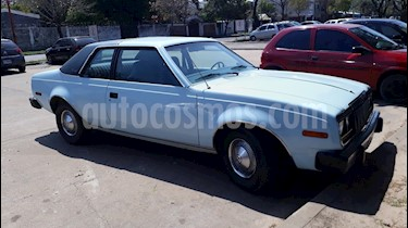 AMC Concord Coupe usado (1981) color Celeste precio $175.000