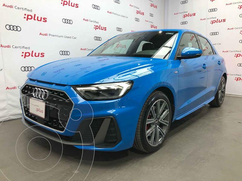 Foto Audi A1 Sportback S line usado (2021) color Azul precio $630,000