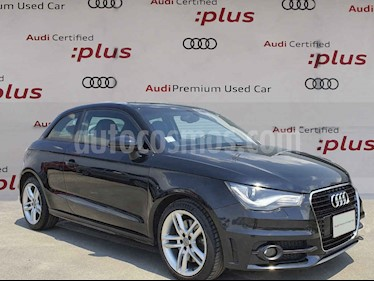 Audi A1 3p S Line L4/1.4/T Aut usado (2015) color Negro precio $260,000