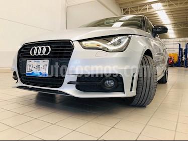 Audi A1 S- Line usado (2014) color Plata Metalizado precio $218,000