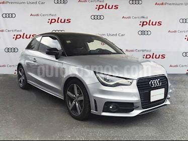 Audi A1 3p S Line L4/1.4/T Aut usado (2014) color Plata precio $230,000