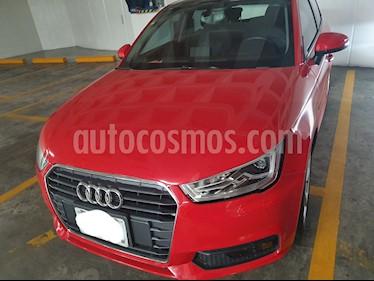 Audi A1 Sportback Ego S-Tronic usado (2017) color Rojo precio $260,000