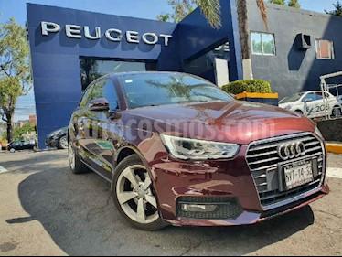 Audi A1 3p Ego L4/1.4/T Aut usado (2016) color Vino Tinto precio $269,900