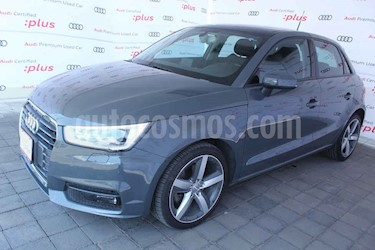Foto Audi A1 5p Ego L4/1.4/T  Aut usado (2018) color Gris precio $340,000