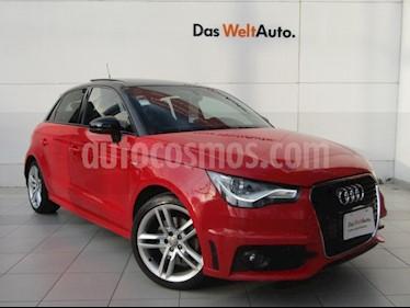 Foto Audi A1 S- Line Plus usado (2013) color Rojo Shiraz precio $210,000