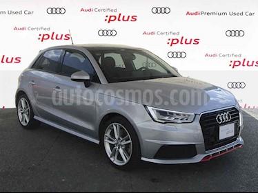 Audi A1 5p S Line L4/1.4/T Aut usado (2018) color Plata precio $390,000
