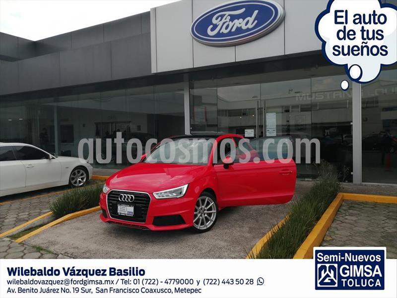 Audi A1 A1 S LINE S TRONIC usado (2017) color Rojo precio $310,000
