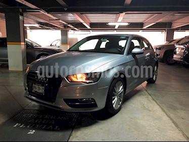 Audi A3 1.4L Ambiente usado (2016) color Gris precio $280,000