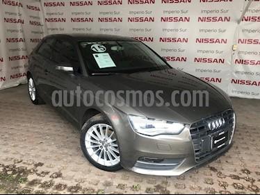 Foto venta Auto usado Audi A3 1.4L T FSI Ambiente S-Tronic (2015) color Gris Meteoro precio $215,000