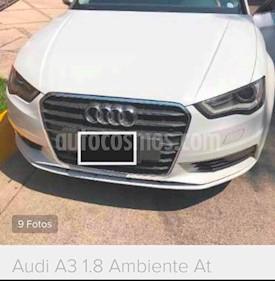 Foto Audi A3 1.8L Ambiente Aut usado (2014) color Blanco precio $290,000