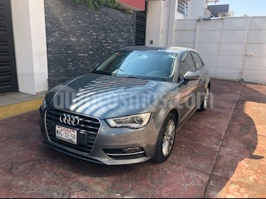Audi A3 1.8L Ambiente Plus S-Tronic  usado (2015) color Gris Lava precio $280,000