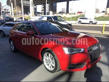 Foto venta Auto usado Audi A3 1.8L Attraction Aut (2015) color Rojo Bari precio $280,000