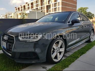 Audi A3 2.0L S-Line DSG usado (2018) color Gris Oscuro precio $495,000