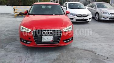 Audi A3 3P 1.8L T Aut usado (2014) color Rojo precio $195,000